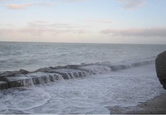 Retour sur 2014: la mer envahit des rues de Saint-Martin