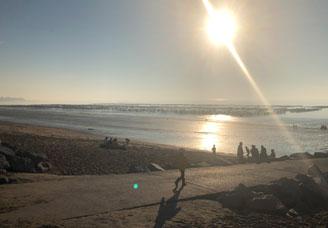 Spectaculaires grandes marées fin août à Saint-Martin de Bréhal