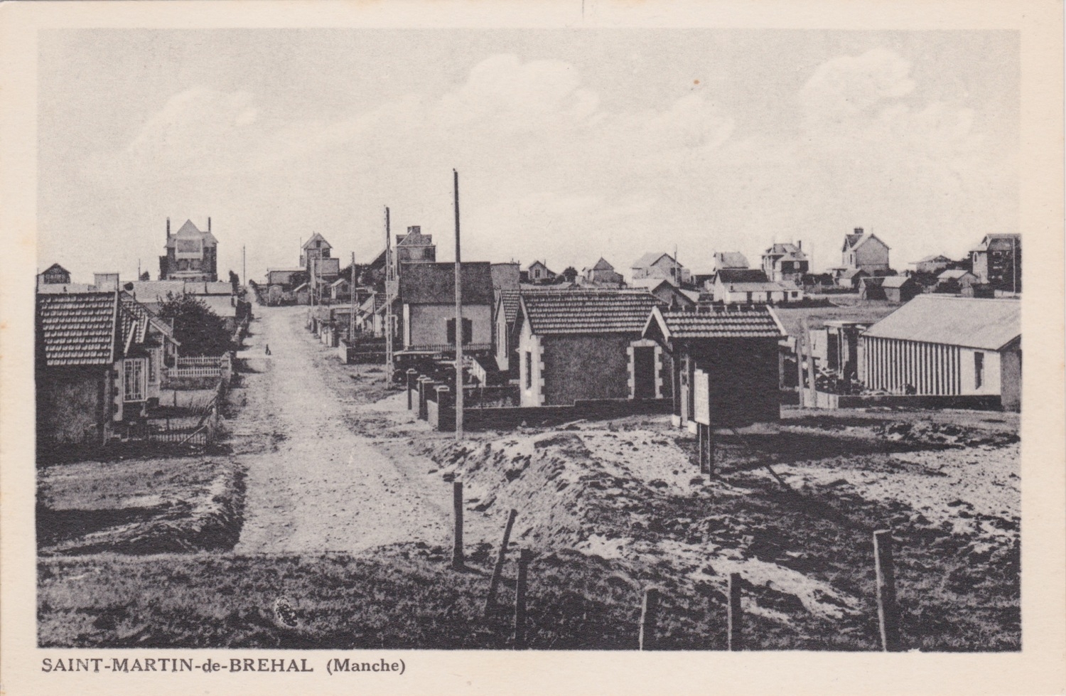 1920 St Martin Rues Rue des Iles Chausey © collection Jean Claude (...)