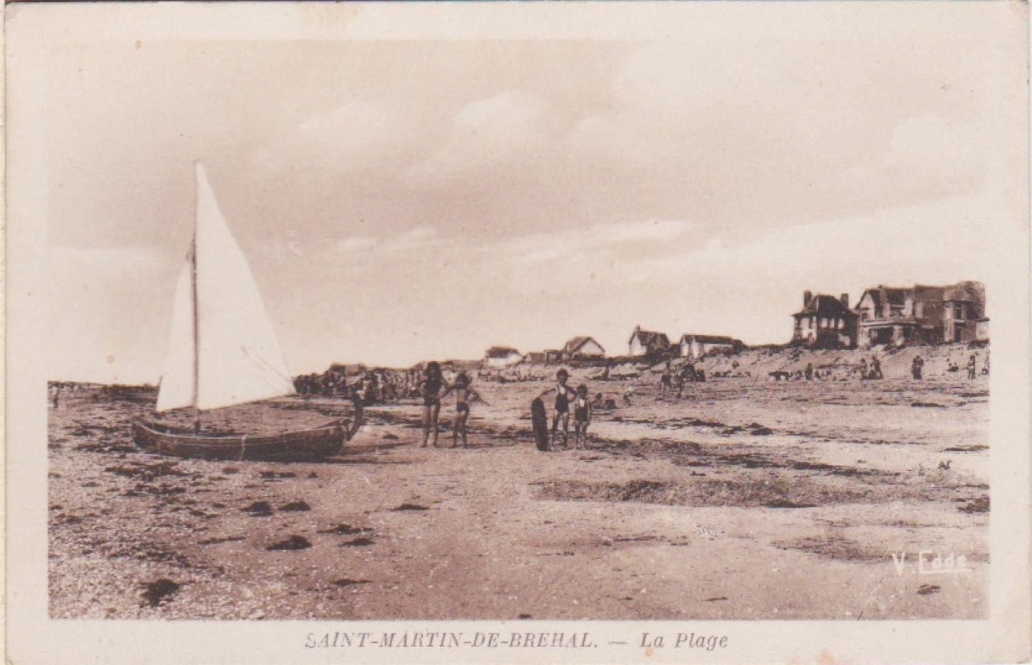 1930 St Martin Plage 2 © collection Jean Claude Ferret