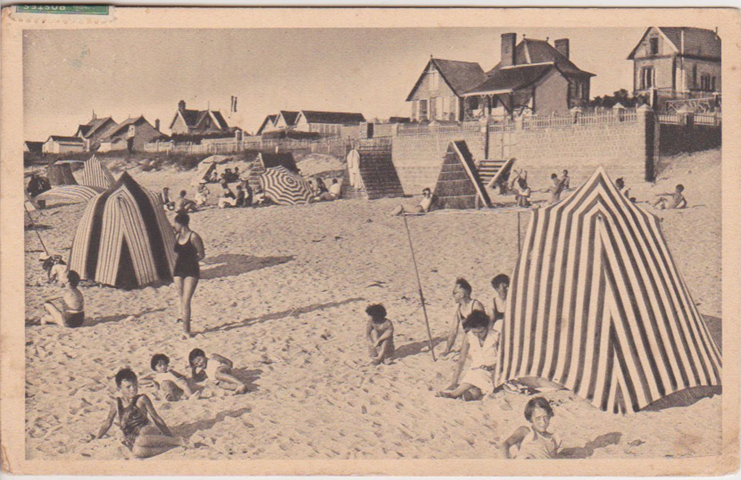 1937 St Martin Plage © collection Jean Claude Ferret