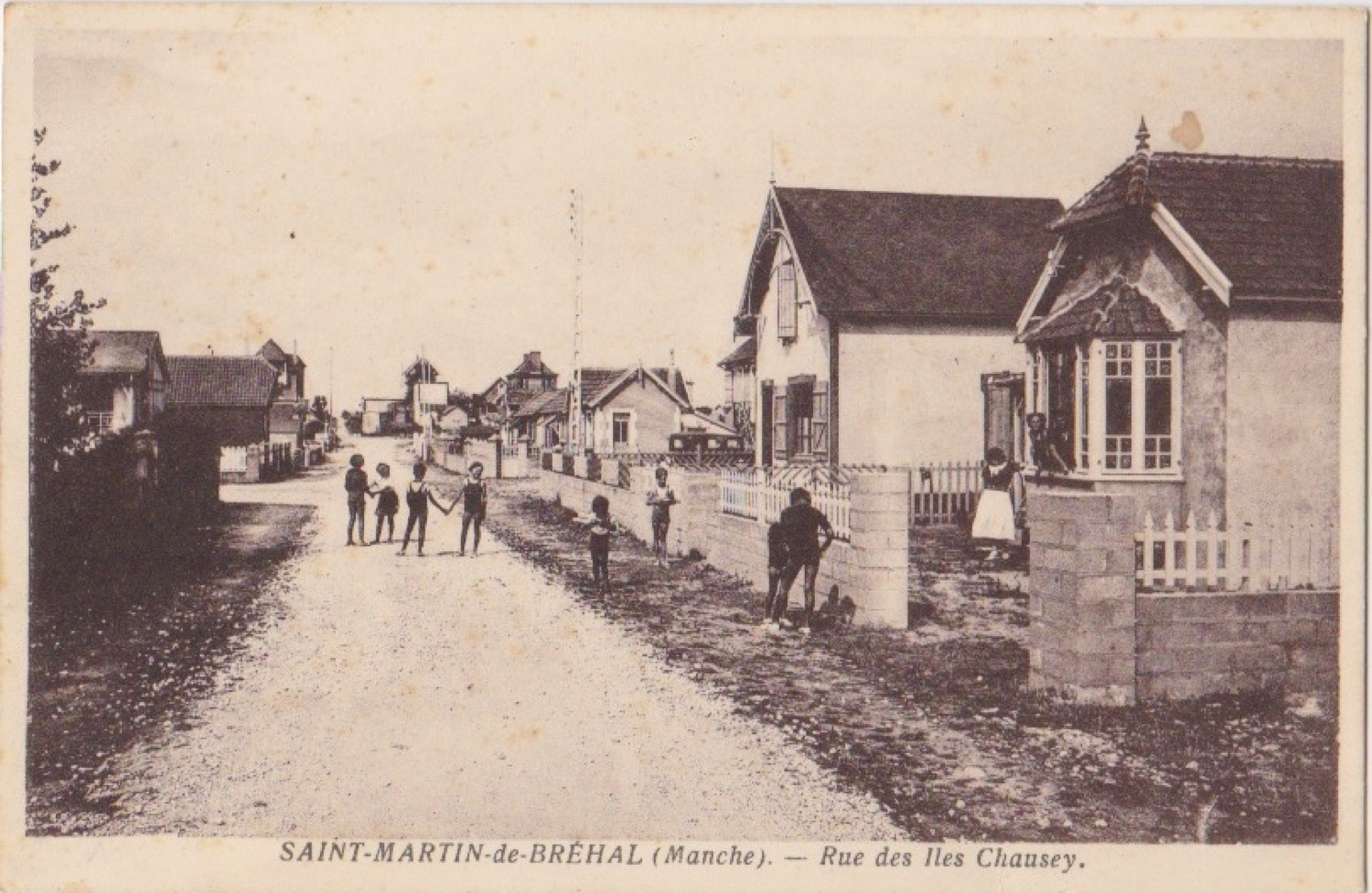 1938 St Martin Rues Rue des iles Chausey © collection Jean Claude (...)