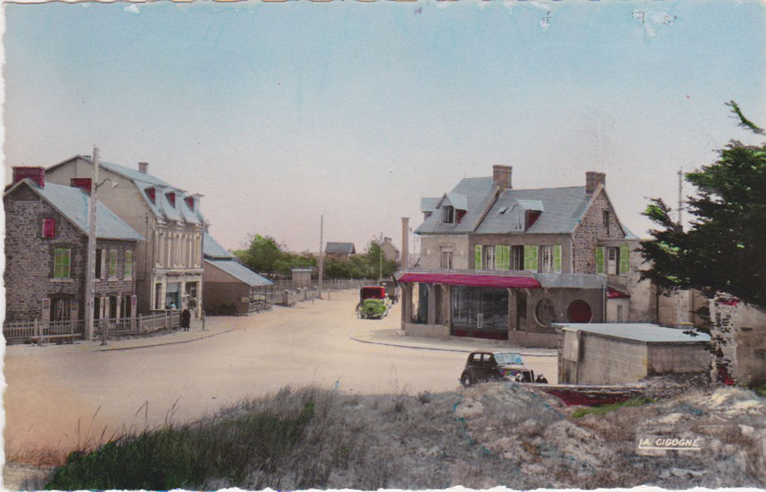 1948 St Martin Carrefour Central 2 © collection Jean Claude Ferret