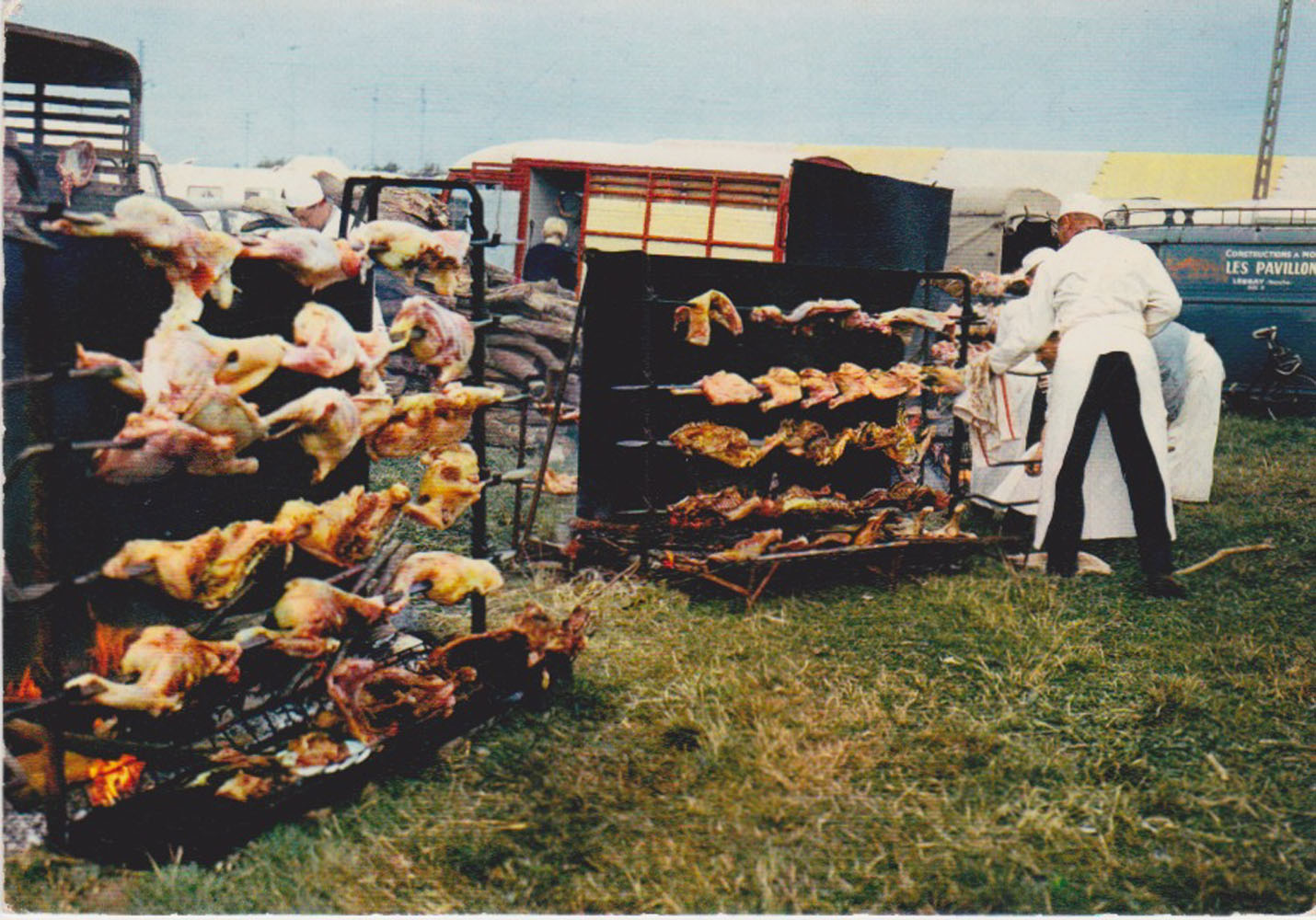 1968 St Martin Commerce Rotisserie © collection Jean Claude Ferret