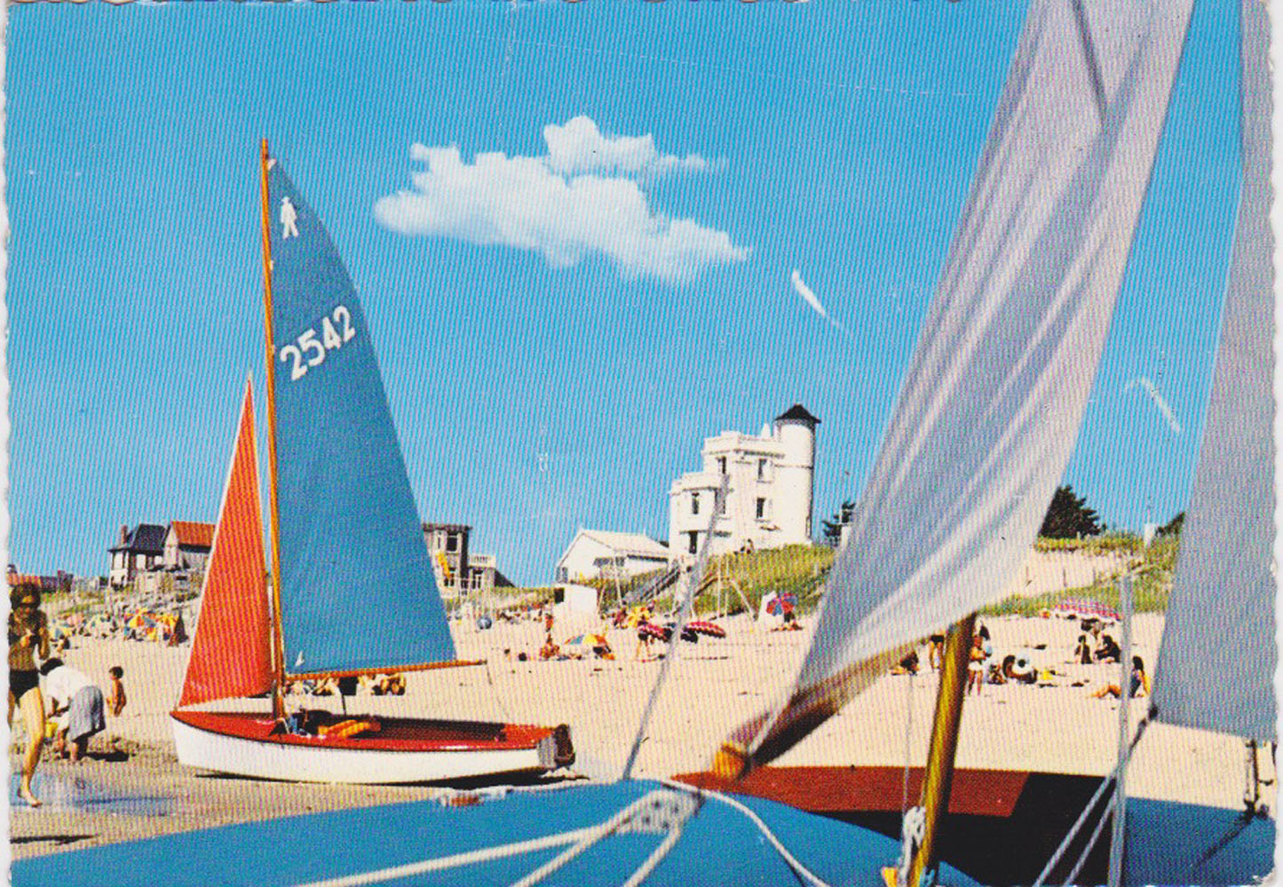 1969 St Martin Plage © collection Jean Claude Ferret