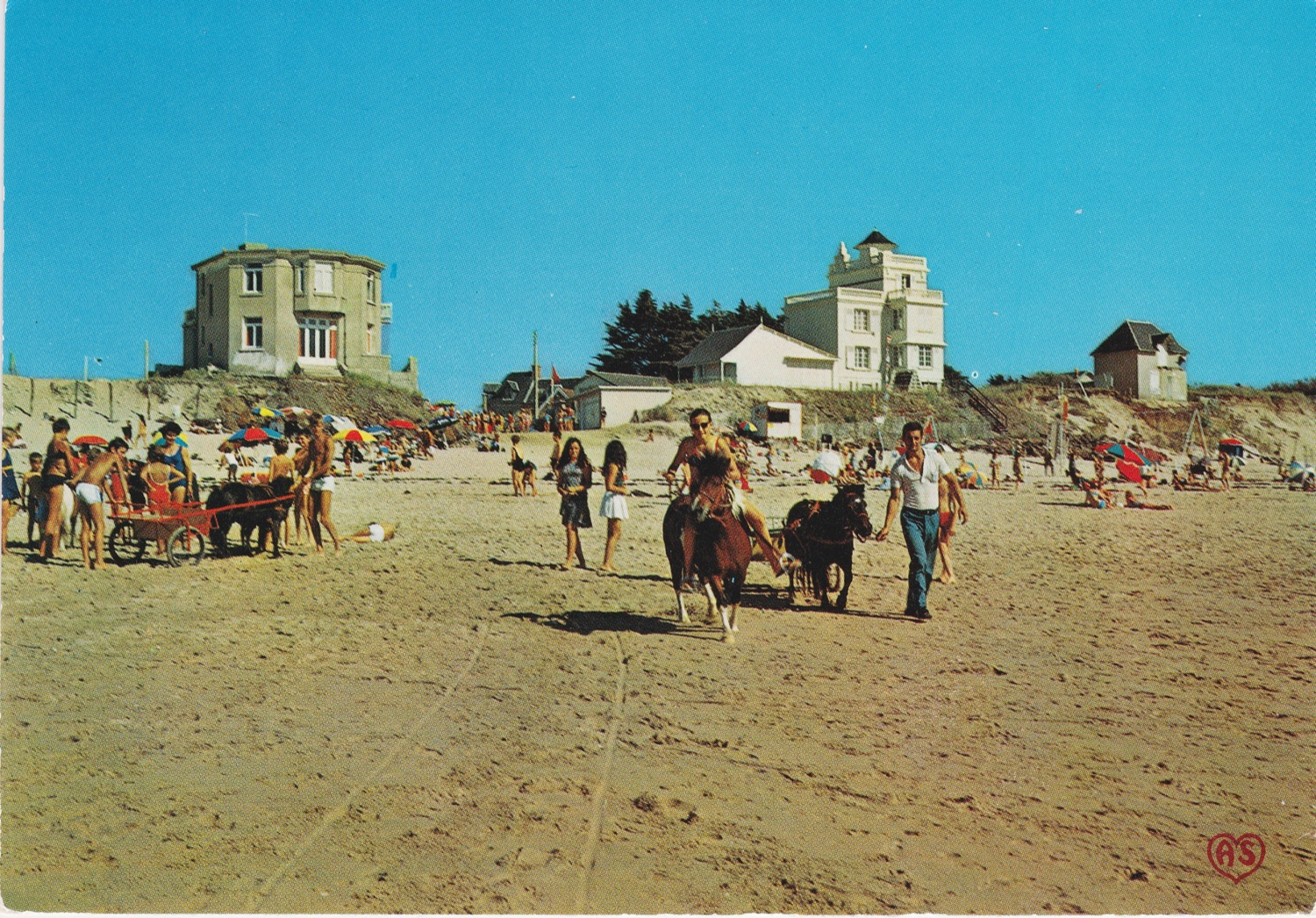 1970 St Martin Plage 5 © collection Jean Claude Ferret
