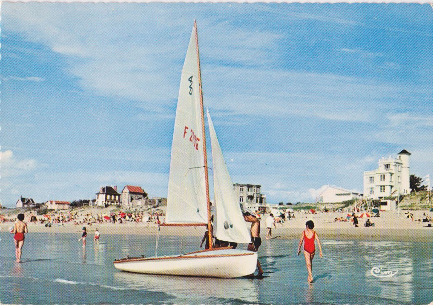 1970 St Martin Plage 3 © collection Jean Claude Ferret