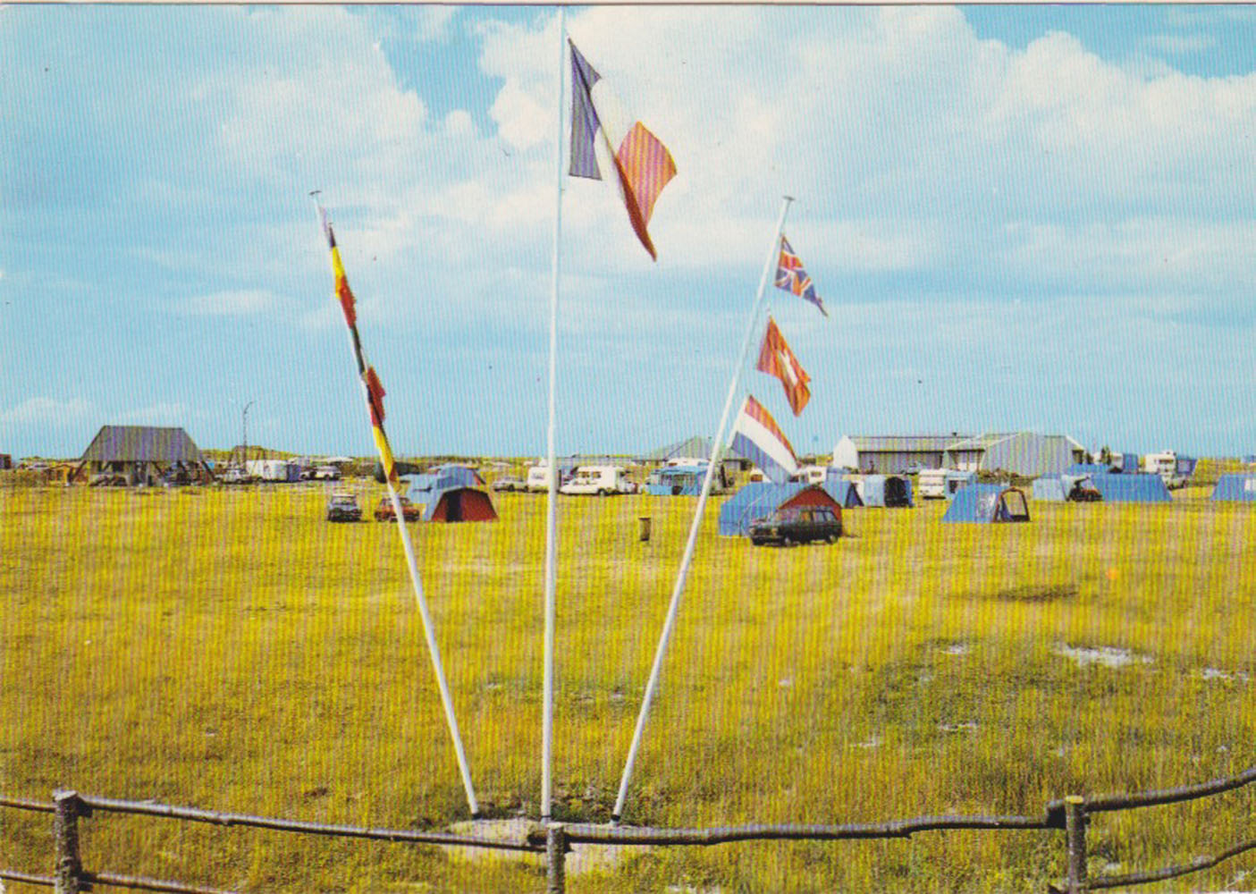 1972 St Martin Sites Camping Vanlée © collection Jean Claude Ferret