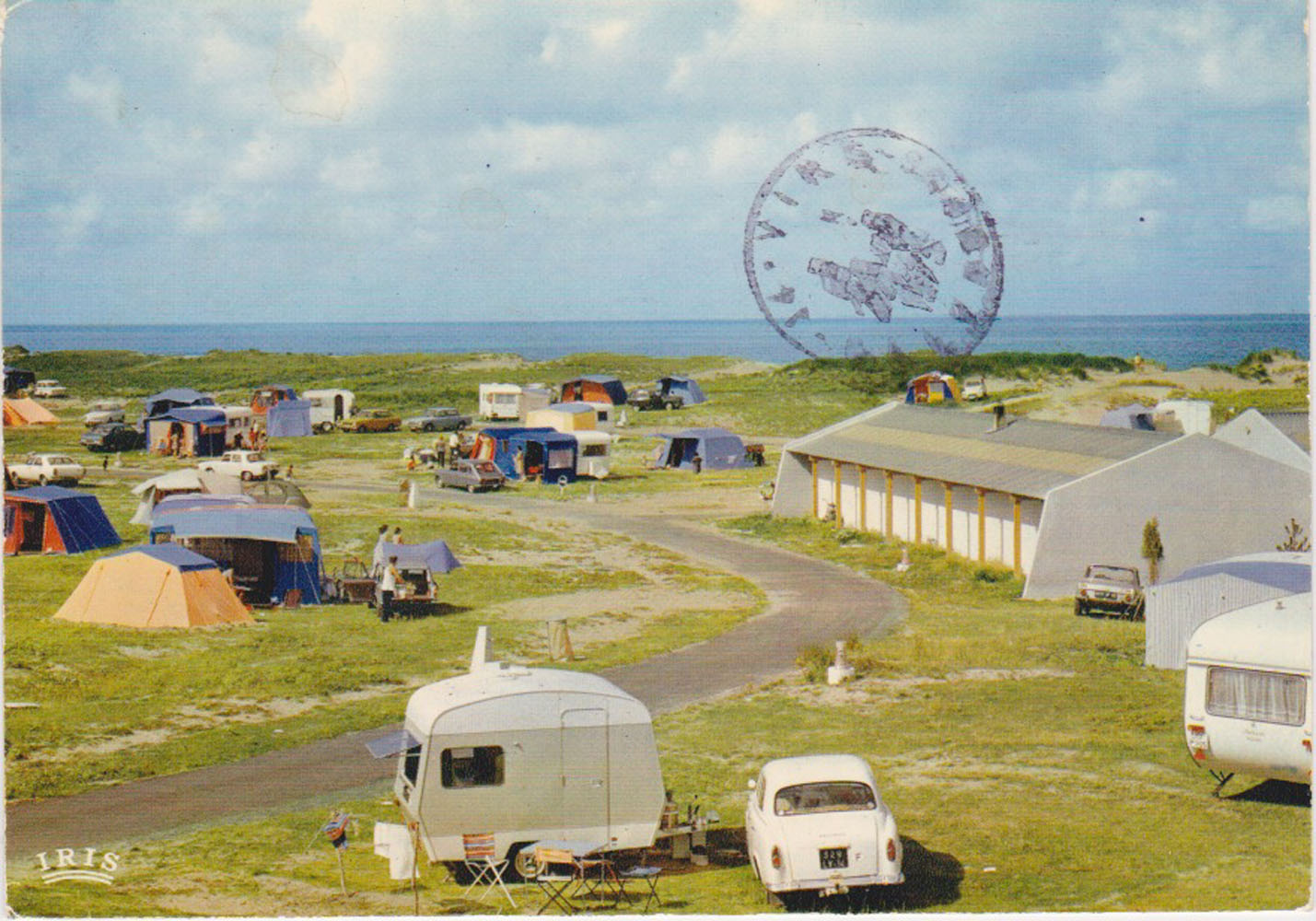 1973 St Martin Sites Camping Vanlée © collection Jean Claude Ferret