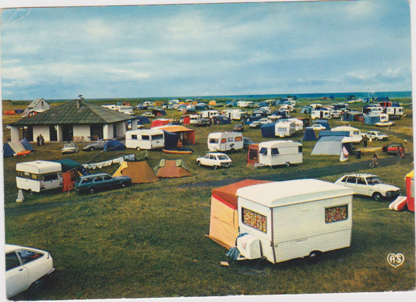 1976 St Martin Sites Camping Vanlee © collection Jean Claude (...)