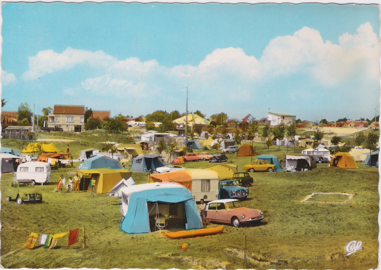 1965 St Martin Sites Camping © collection Jean Claude Ferret